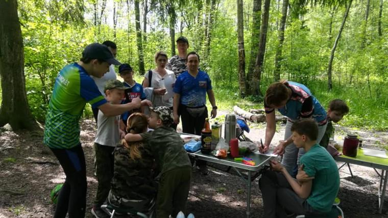 Турслет среди семейных команд района Внуково